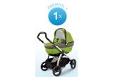 1 x Peg Perego - Carucior 3 in 1 Book Plus Completo, 1 x Scaun Auto 0+,1, 2 Stages, 5 x Tricicleta