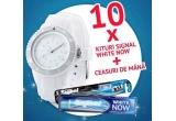 10 x Kit Signal (ceas de mana + pasta + periuta de dinti Signal)
