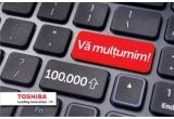"100 x cana personalizata, 1 x Toshiba Smart TV 32"""