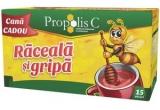10 x premiu Propolis C Raceala & Gripa(Family Pack - Propolis C Raceala si Gripa Kids cu cana CADOU + Propolis C Echinacea Forte 33% cadou )