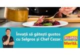 5 x invitatie dubla la atelierul de cooking oferit de Selgros si Chef Cezar Munteanu