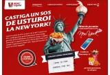 1 x excursie la New York + bani de buzunar, 42 x tableta Samsung Galaxy Tab 3, 150.000 x pahar Coca-Cola (0.3L)/ cartofi prajiti (portie mica)/ 2 Hot Wings