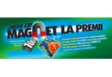 6 x vouchere de 100 euro in produse Presto Pizza, 1 x magneti branduiti cu Presto Pizza, 2 x smart TV