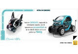 1 x iPad mini, 1 x camera video, 1 x camera foto, 2 x hard-disk extern, 21 x tricou personalizat, 1 x drive test cu Renault Twizy