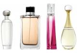1 X Jil Sander - Jil (EDP 50 ml), 1 x Nina Ricci - Nina L'Eau (EDT 50 ml), 1 x Donna Karan - DKNY Women (EDP 50 ml), 1 x Chopard - Happy Spirit (EDP 50 ml)
