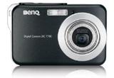 O camera digitala Benq T-700<br />