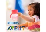 3 x biberon Phillips Avent Natural, 2 x cana de adult Phillips Avent