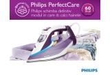 2 x fier de cǎlcat Philips PerfectCare Azur