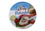 1 x premiu Koliba continand bucata cascaval clasic Koliba portionat de 200 gr + bucata cascaval afumat Koliba portionat de 200 gr + cutie Pohoda – branza topita de 140 gr (8 triunghiuri) + pachet Gustul Untului Koliba (65%) de 200 gr