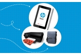 1 x tableta HP Slate 7, 2 x imprimanta HP Deskjet