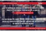 1 x 500€ cash