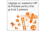 1 x weekend VIP la Predeal pentru tine + 3 prieteni