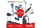 "zilnic: bicicleta maganetica Energy Fit, aparat Vibromasaj Sporter, step Aerobica Energy Fit, banca de abdomene Actuell, 1 x bicicleta magnetica ""Tunturi Classic"""