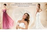 1 x voucher pentru o rochie de mireasa Alice Design la alegere, 1 x voucher pentru o rochie de seara Alice Design la alegere