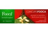 1 x voucher Fooca de 450 RON, 3 x voucher Fooca de 300 RON, premii surpriza oferite pe 1 februarie