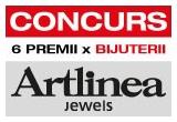 6 x bijuterie Artlinea (4 coliere + 2 bratari)
