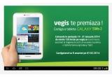 1 x tableta Samsung Galaxy Tab2