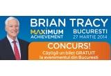 1 x bilet gratuit la intalnirea cu Brian Tracy din 27 martie in Bucuresti