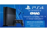 1 x Consola Sony PlayStation 4 500GB + Controller Sony Dualshock 4 + Kit Dual Channel Kingston 8GB, Jocuri GT 6,  Controllere PS3 și multe altele
