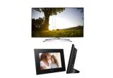 1 x televizor Samsung Smart, 12 x rama digitala Sony
