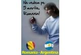 20 x 5 bilete la meciul Romania - Argentina
