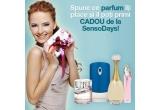 4 x parfumul preferat, 30 x voucher SensoDays in valoare de 50 ron