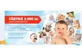 1 x 2.000 lei Card Cadou pentru cumparaturi de pe eMAG