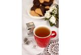 1 x 30 de portii de ceai si miere + set de cutii ceramice, 1 x 30 de portii de ceai si miere + set de patru cescute cu farfurii