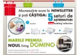 1 x living Domino, 5 x set asternuturi Lem's bedding collection