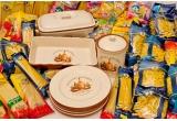 1 x Set vesela Normandia pentru gatit si servit + 40 kg de paste Baneasa, 1 x Set vesela Normandia pentru gatit si servit + 24 kg de paste Baneasa, 1 x Set vesela Normandia pentru gatit si servit + 24 kg de paste Baneasa