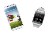 "1 x set Samsung Galaxy S4 16Gb I9500 White + Samsung Galaxy Gear V700 Smartwatch White, 21 x tricou ""Big Bang Theory"""