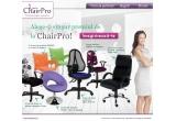 1 x scaun directorial de piele ecologica Nadir Steel/ scaun de birou ergonomic Open Point SY/ scaun de birou cu design atragator Zoom/ Scaun de birou ENERGY la alegere/ Fotoliu de relaxare Malta – culori la alege/ Scaun Romeo
