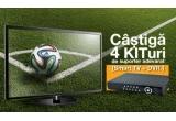 4 x kit format din televizor Samsung Smart Led TV + sistem DVR, 4000 x mascota Fuleco