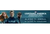 15 x invitatie dubla la filmul Capitanul America – Razboinicul iernii
