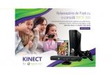 1 x consola Xbox 360 + Kinect + joc Adventure