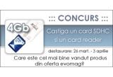 un card SDHC, un card reader<br />