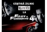 zilnic, o invitatie dubla la filmul &quot;Fast &amp; Furious 4&quot;! <br />