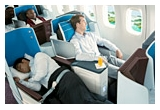 1 x 2 bilete de avion intercontinentale cu KLM World Business Class