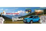 1 x masina Dacia Sandero Stepway, 1 x televizor Samsung LED Smart 40EH5450, 1 x tableta Evolio EVOTAB 3G 7inch