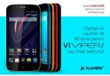 1 x smartphone Allview V1 Viper i, 1 x voucher Allview de 80 de lei pentru Viper i