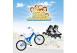 200 x pereche de role, 100 x bicicleta Kreativ sau DHS