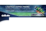 1 x sansa de a vizita impreuna cu un prieten stadionul echipei straine preferate, 30 x pachet special Gillette Fusion ProGlide