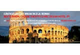 1 x city break in 2 la Roma