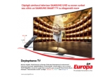 1 x televizor Samsung Smart TV Ultra HD Curbat, 20 x televizor Samsung Smart TV UE40H6200AWXXH