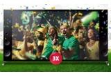 3 x televizor LED Smart 3D Triluminos Ultra HD 4K