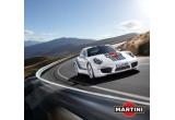 1 x masina Porche 911, 1 x vacanta in Italia, zilnic: kit Martini Royale, saptamanal: cadou Williams Martini Racing
