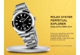 1 x ceas Rolex Oyster Perpetual Explorer, 200 x set de barbierit