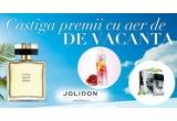 100 x apa de parfum Little Black Dress, 50 x voucher Jolidon in valoare de 100 lei, garantat: lotiune de corp cu rodie si mango Naturals / set My Vibe