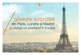 1 x weekend in Europa + 150 euro