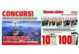 1 x vacanta la Paris, 10 x parfum, 100 x set de DVD-uri cu filme de Oscar